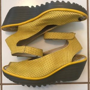 Fly London wedges size 41